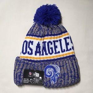 detailed look ec408 2db2f New Era Accessories - Los Angeles Rams Beanie Hat